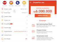 Saya Dapat Limit ShopeePayLater Rp.6.000.000. Kapan Sebaiknya Memakai Sistem Beli Sekarang Bayar Nanti?