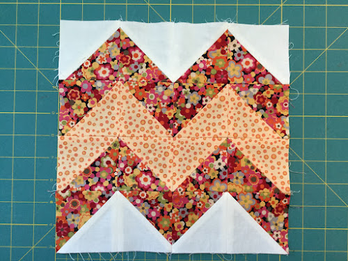 Block 6:16 HST quilt sampler - video tutorial