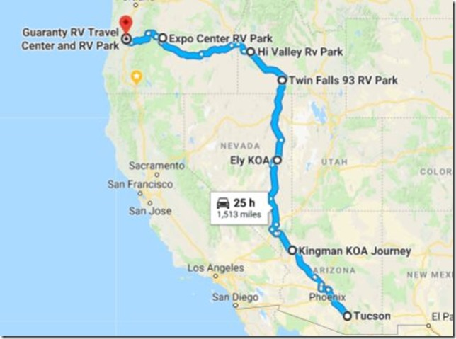 2018 summer route