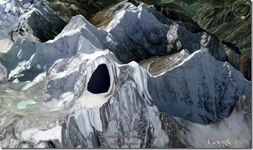 ufo base himalayas google earth (1)