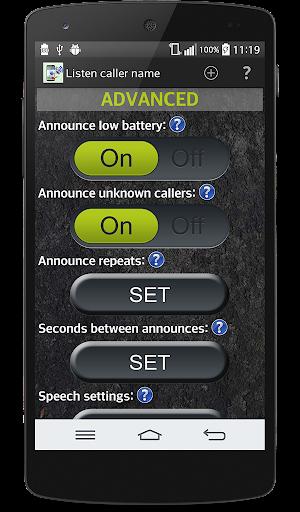Say caller name  screenshots 6