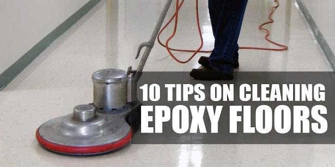 How to Clean Epoxy Floor Coatings