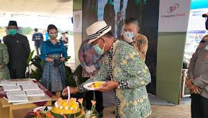 Potong Tumpeng Dan Gunting Pita, Bupati Subang Resmikan Pasar Purwadadi
