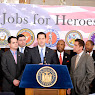 Jobs For Heroes Albany Press Conference