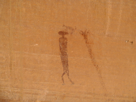 Buckhorn Wash pictograph panel