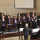 2013-03-31 paasdienst met koor