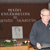Krámer Iván OPST elnökségi tagja,  Friss nyomon Sárszentlőrincen - egy előkerült kézirat ismertetéséről tartott előadást