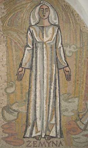 Goddess Zemyna Image