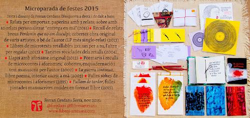 Parada Llibres Artesans Nadal 2015