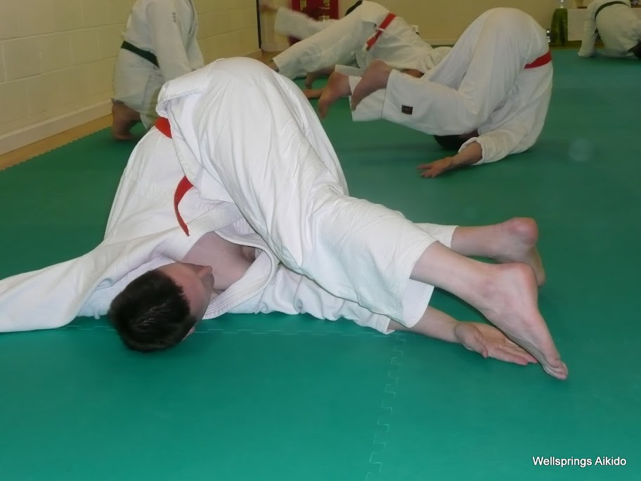 soft breakfall session with War Lewis Sensei