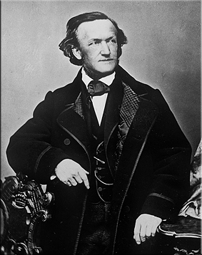 Retrato de Richard Wagner
