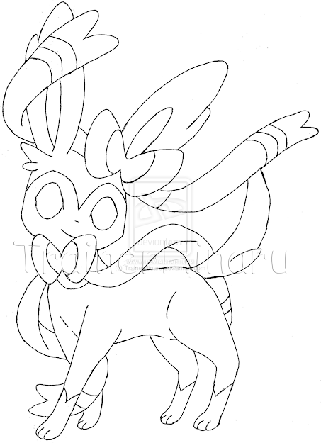 Pokemon Coloring Pages Sylveon Hicoloringpages Throughout Pokemon Coloring  Pages Sylveon