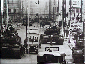 El incidente del Checkpoint Charlie - Octubre de 1961