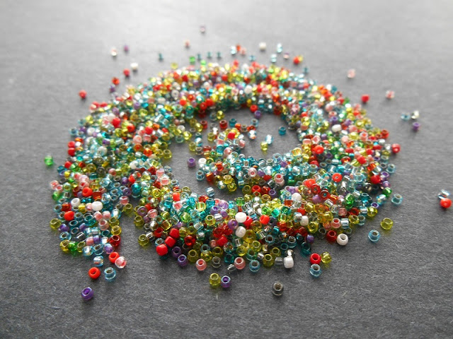 Custom Size 15 Seed Bead Mix