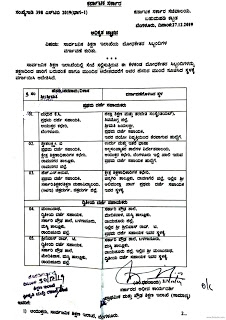 List of FDA / SDAs of the Department of Education transferred in 'Public Interest' on: 30.12.19 and Date: 27.12.19