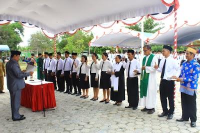 Lagi, Ratusan Anggota BPD di Pulpis Dilantik Bupati Edy