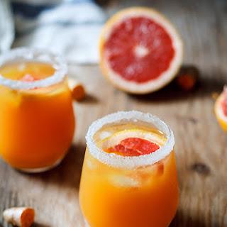 Turmeric Ginger Grapefruit Mocktail Recipe