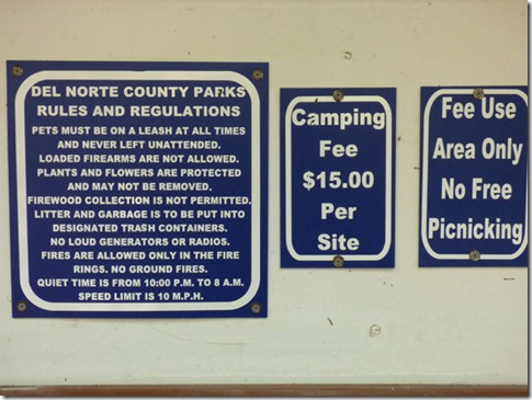 Florence Keller Park, Crescent City, Ca