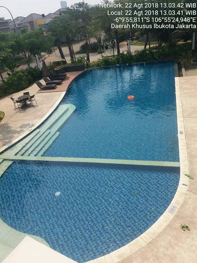 kolam renang kelapa gading