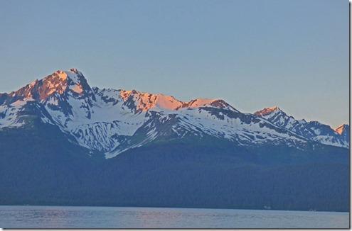 11 pm, Seward Alaska, looking out across Resurrection Bay