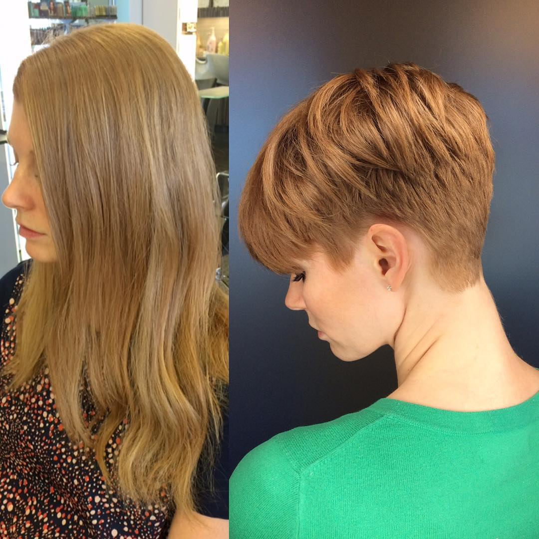 +9 Short Haircuts And Hairstyles For Short Hair 3
