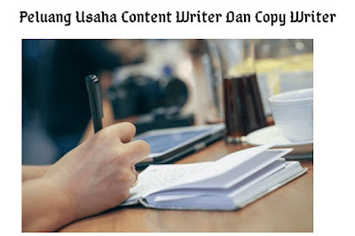 Peluang Usaha Content Writer Dan Copy Writer