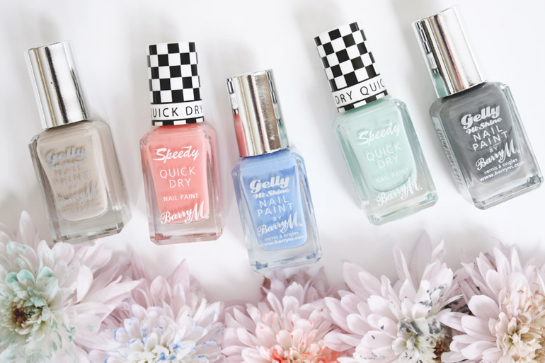 barry m nail varnish spring colour palette collection
