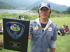 優勝 加藤正視プロ  優勝盾 2012-10-09T02:12:17.000Z