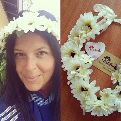 #Valdler Flower Wreath Headband