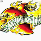 king of pain - tattoo designs