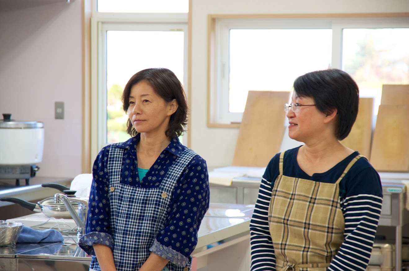 道下貴美さん、川上陽子さん
