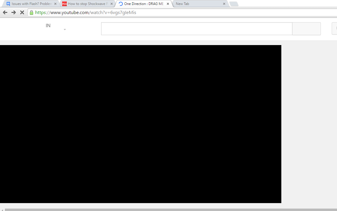 Adobe Shockwave crash - Google Chrome Help