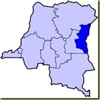 Congo image with Kivu highlighted
