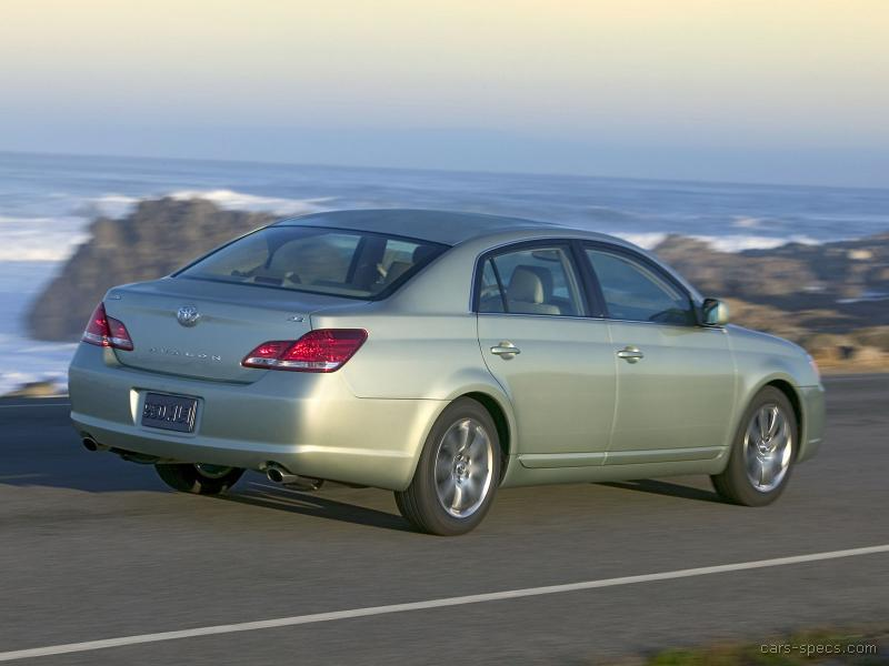 2005 toyota avalon sedan specifications pictures prices. Black Bedroom Furniture Sets. Home Design Ideas