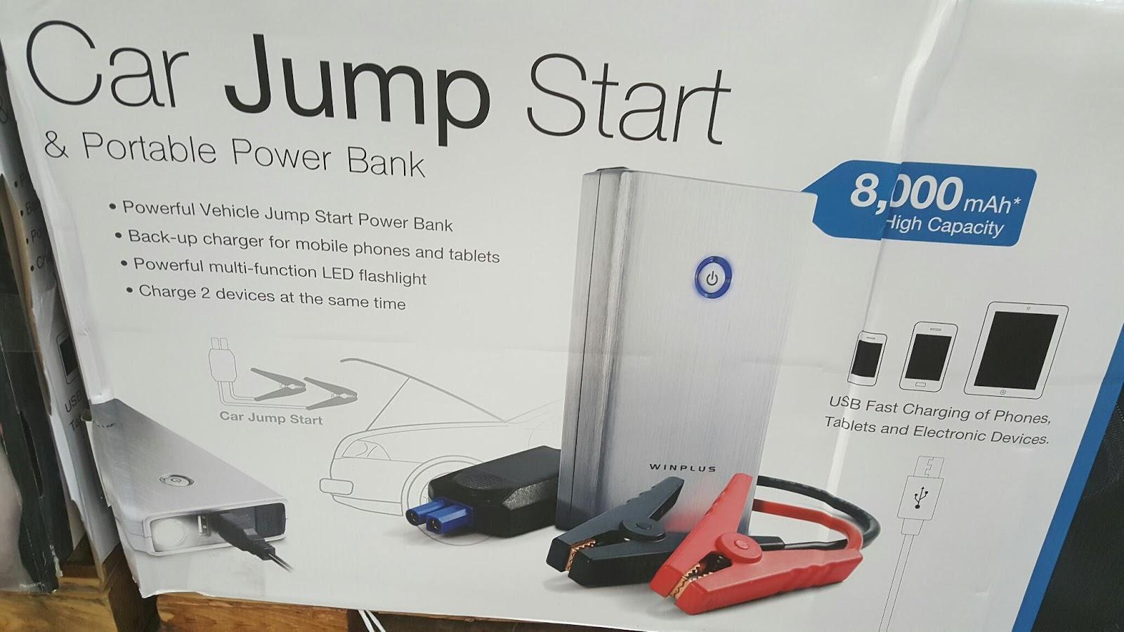 1750766 Lithium Jump Starter Portable Power Bank Costco Addiction