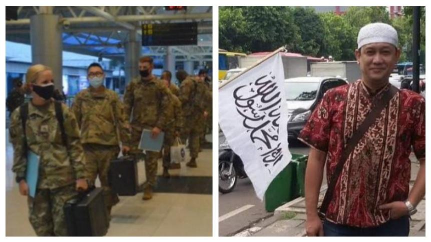 Tentara AS Mendarat di Palembang, Denny Siregar: Bayangkan Kalo Ini Tentara China, Ributnya Udah ke Bulan
