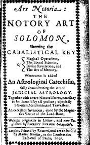 Cover of Solomonic Grimoires's Book Ars Notoria The Notary Art Of Solomon