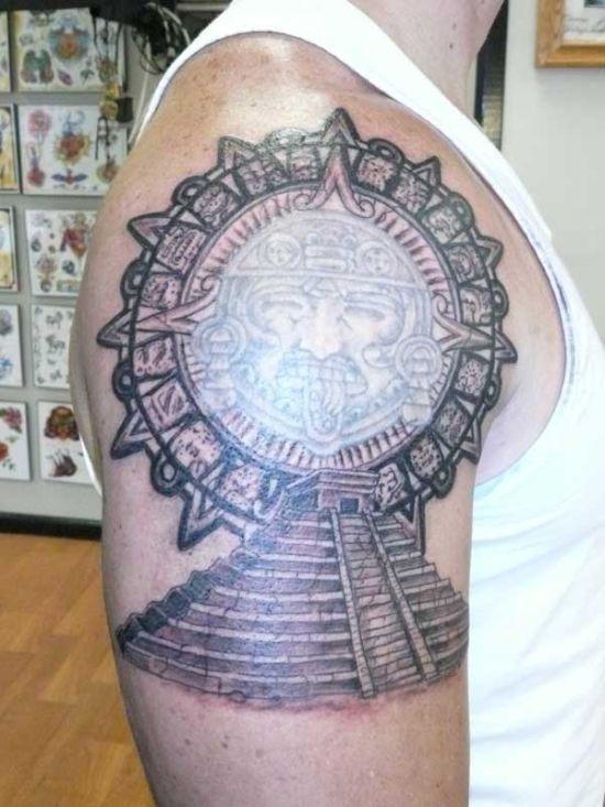 pirmide_azteca_desenho_de_tatuagem