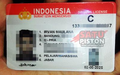SIM Seumur Hidup Di Indonesia, Memang Ada ???