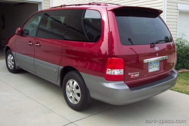 2003 Kia Sedona Ex Penger Minivan 3 5l V6 5 Sd Automatic