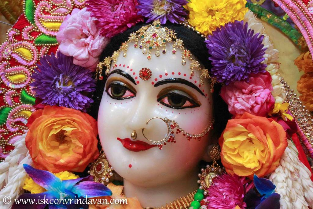ISKCON Vrindavan Sringar Deity Darshan 29 Feb 2016 (1)
