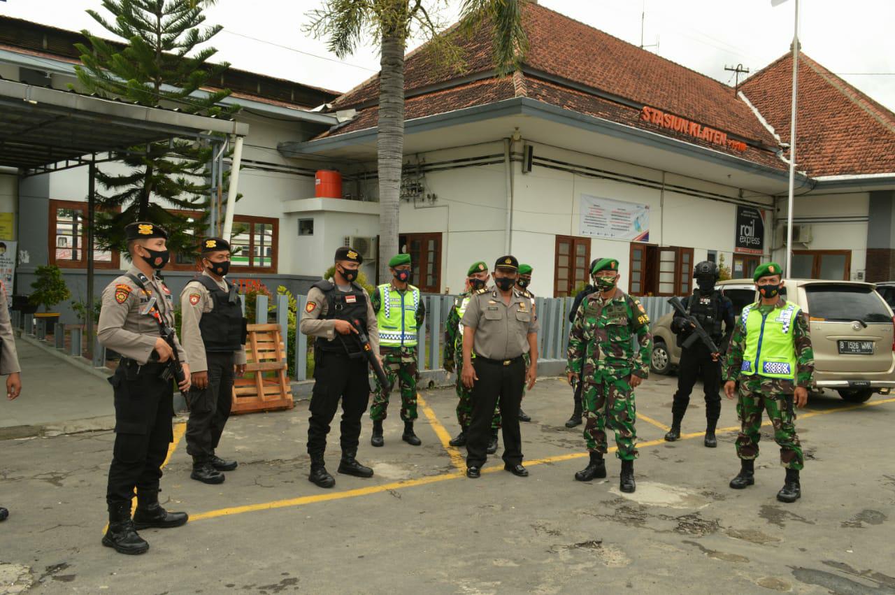 Awal Tahun Baru Polres Klaten Dan Kodim 0723/Klaten Tetap Lakukan Patroli Pengamanan