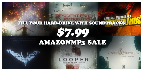 Fill Up Your Hard-Drive with Soundtracks! | AmazonMP3 Sale