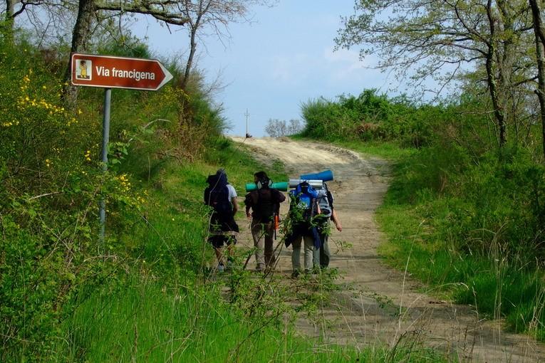 La Vía Francigena se mira en el Camino de Santiago