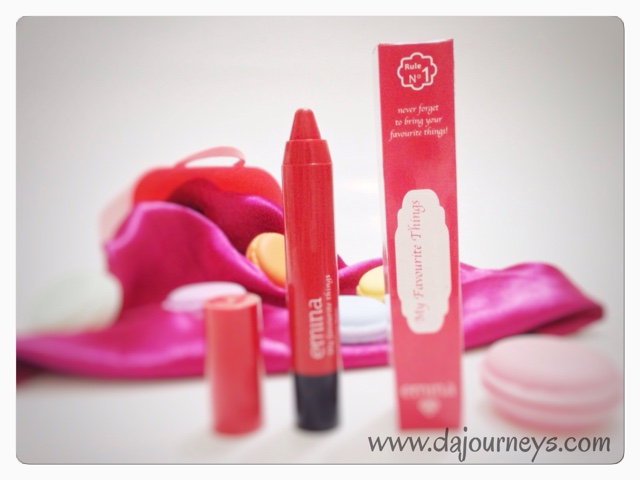 Review Emina Cosmetics My Favourite Things Lip Color Balm
