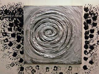 Arteideblog quadri astratti moderni irene durbano for Quadri in argento