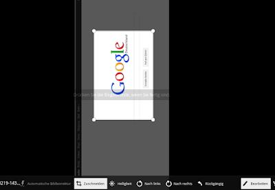 Chromebook Foto Editor
