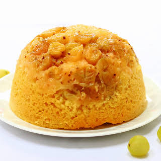 Slow Cooker Steamed Gooseberry Pudding.