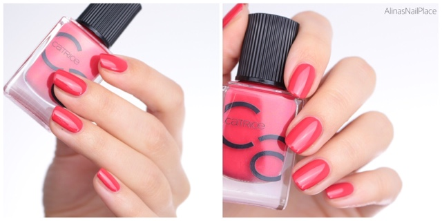 iconails catrice coral floral