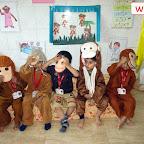 Rhyme Enactment Activity - Five Little Monkeys (Nursery) 26-9-2018